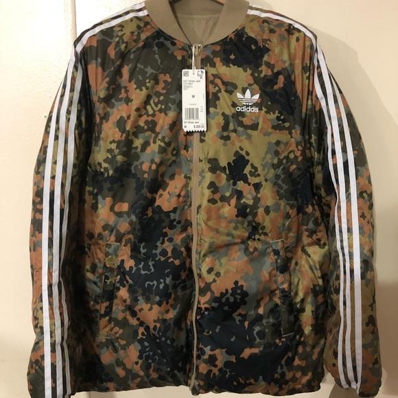 Adidas + Pharrell Williams Hu Hiking Winter Jacket NWT